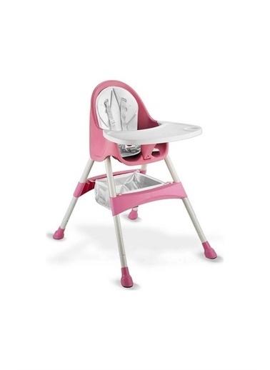 BabyHope Bh7001 Eşya Bölmeli Royal Mama Sandalyesi Kırmızı